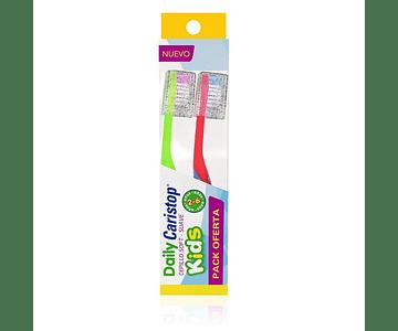 Cepillo Dental Kids Suave (Pack Oferta) x2