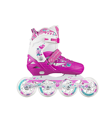 PATIN ROLLER PINK - FUCSIA