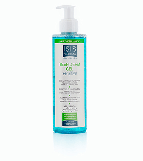 TEEN DERM GEL SENSITIVE