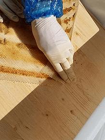 La griglia di propoli adatta ai bottini di Segeberger (43 x 43 cm), può essere tagliata a misura