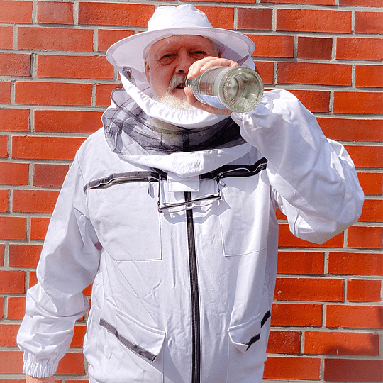 Beekeeping jacket made of cotton