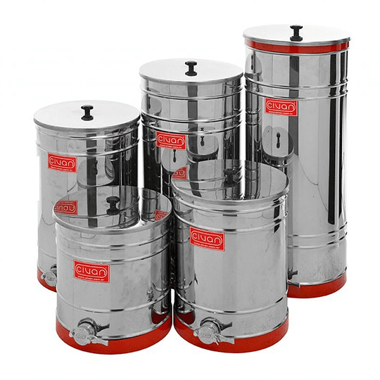 Stainless steel filling container