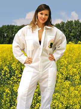 Tuta da apicoltori ventilata con maschera astronauta