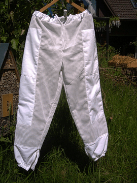 Beekeeper pants, stocky sizes (in white or beige)