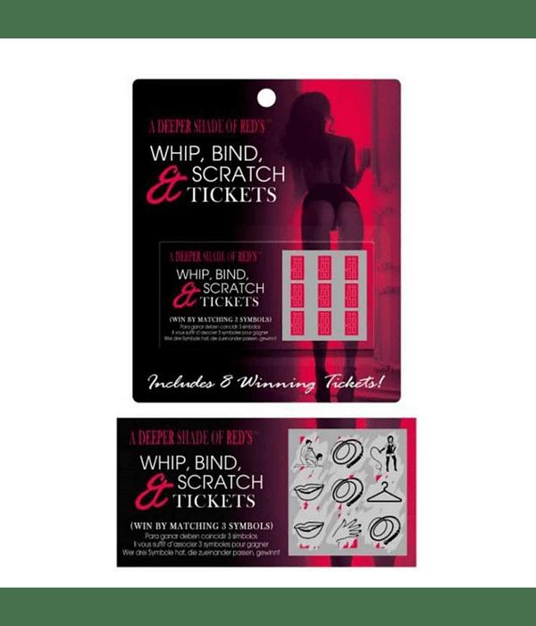 Whip, Bind & Scratch Raspe Erótico