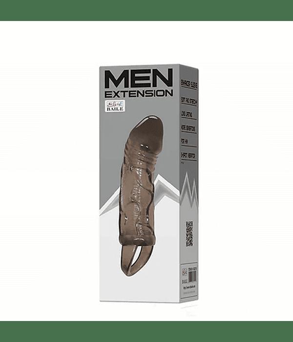 Men Extension Funda con Agarre Escrotal