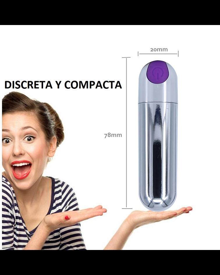 BALA ESTIMULADORA METALIZADA USB