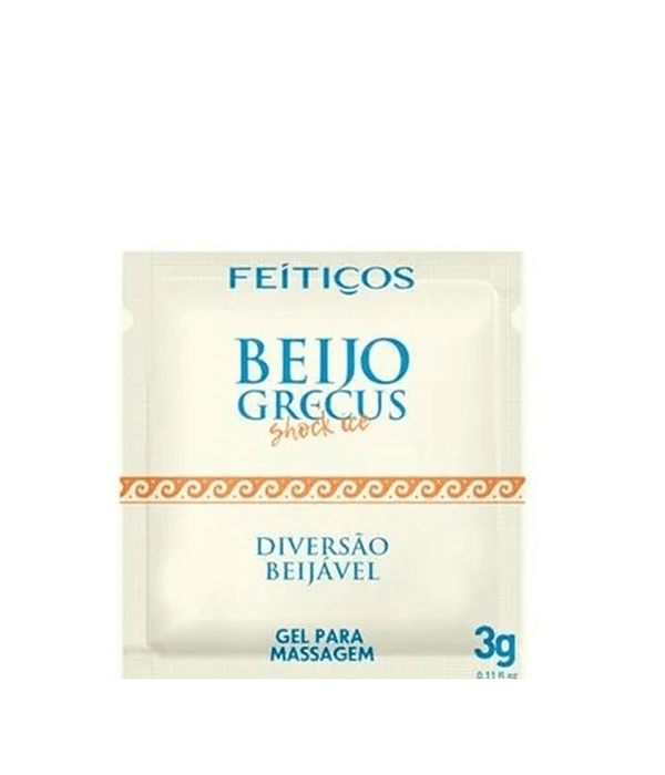 Beso Griego Shock Ice Gel Anal Besable Sachet 3 gr.