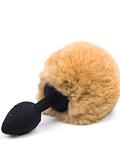 Plug Pequeño Colita de Conejo Silicona