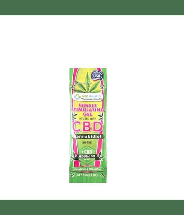 Gel Estimulante Femenino con CBD Sachet 2 ml.