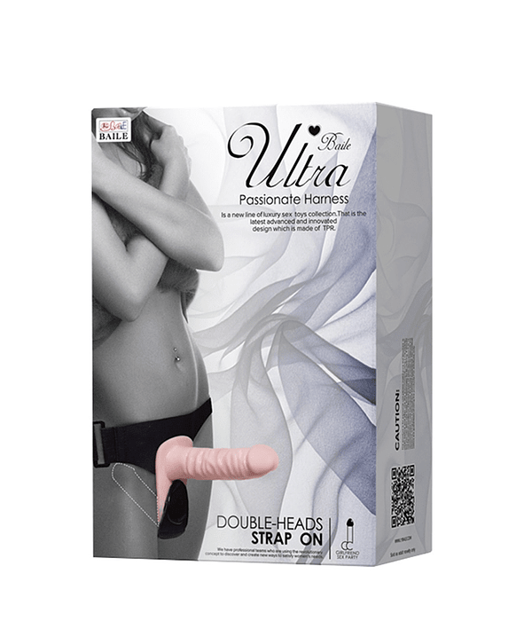 StrapOn Ultra Doble Penetración Vibrador