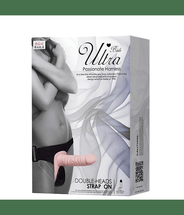 StrapOn Ultra Doble Penetración Vibrador