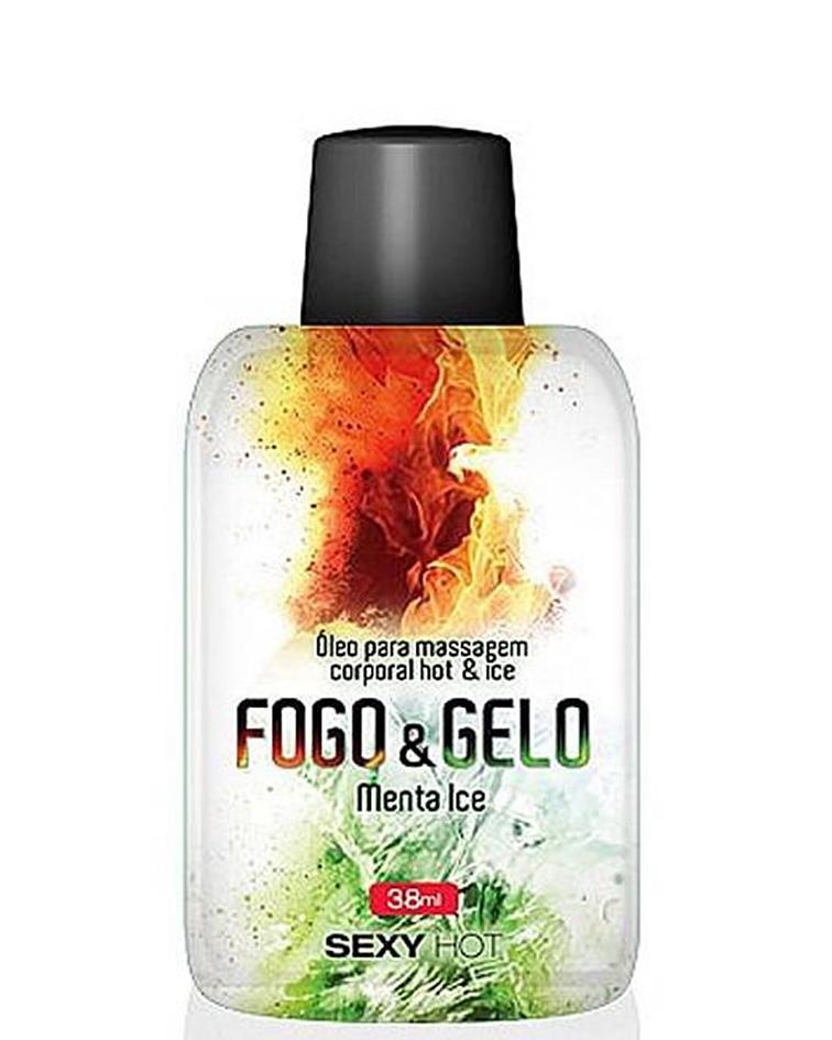 GEL PARA SEXO ORAL FOGO & GELO