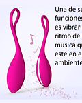 Wireless Music Huevito Vibrador