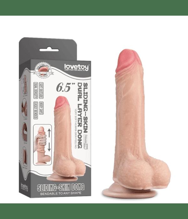 "Dildo Sliding Skin 6.5"""