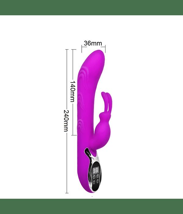 Digi Fire Vibrador Dual con Temperatura