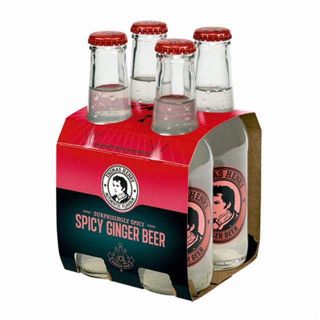 GINGER BEER - 4pack