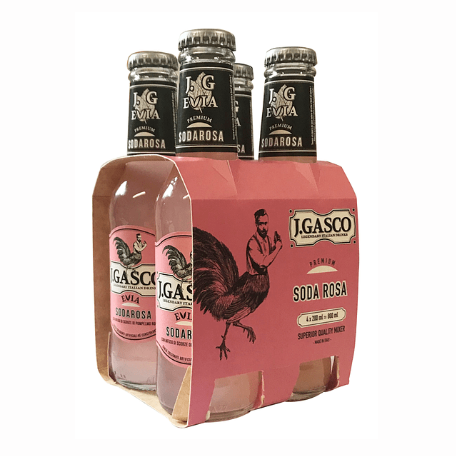 SODA ROSA - 4pack