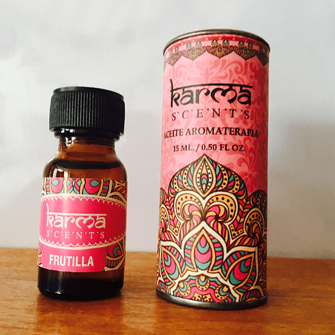 Aceite Aromaterapia Frutilla