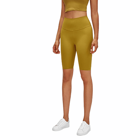 Long Biker Yellow