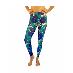 Leggings Flor Violeta