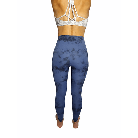 Leggings Blue Tie Dye