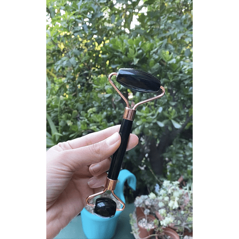Roller piedra Obsidiana