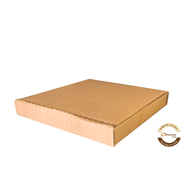 Caja de Pizza por unidad 276x276x36 mm