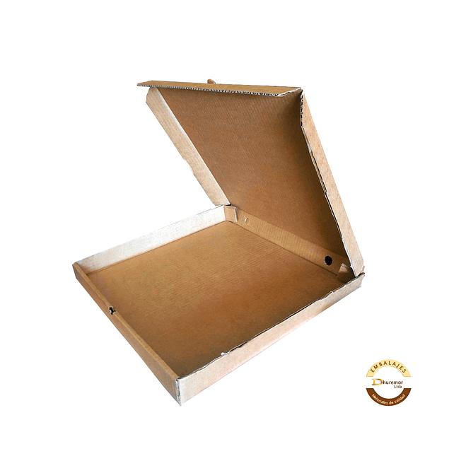 Caja de Pizza por unidad 440x440x45 mm
