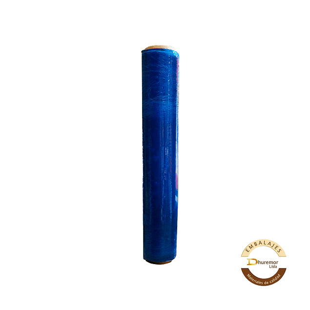 Rollo de Stretch Film Azul 1.6 Kg (para paletizar)