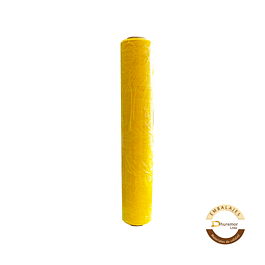 Rollo de Stretch Film Amarillo 1.6 Kg (para paletizar)