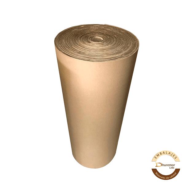 Rollo de Cartón Corrugado 120cm x 50m