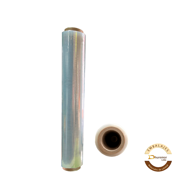 Rollo de Stretch Film Transparente 1,7 Kg (para paletizar)