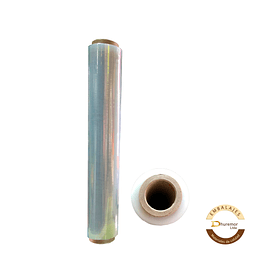 Rollo de Stretch Film Transparente 2.4 Kg (para paletizar)