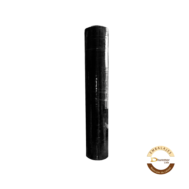 Rollo de Stretch Film Negro 1.6 Kg (para paletizar)