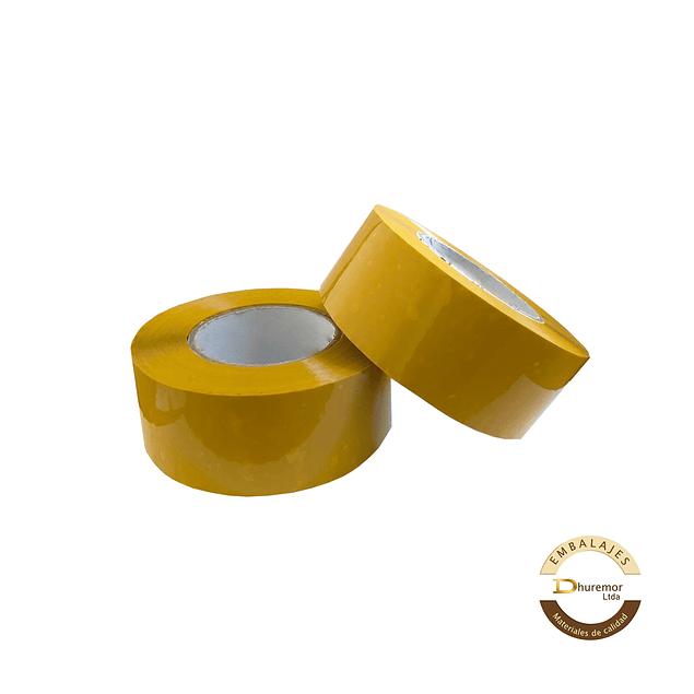 Cinta de embalaje 350M amarillo por unidad