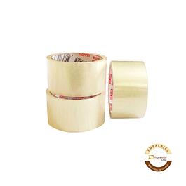 Pack x3 cintas de embalaje transparente 40M
