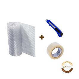 Pack plástico burbuja