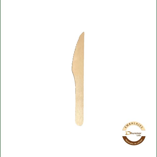 CUCHILLO MADERA (10 unidades)