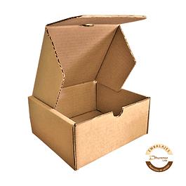 Caja troquelada por unidad 180X180X90 mm