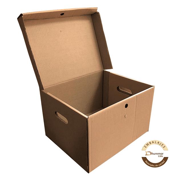 Caja storbox troquelada por unidad 390x295x255