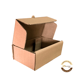Caja troquelada por unidad 220x130x80 mm