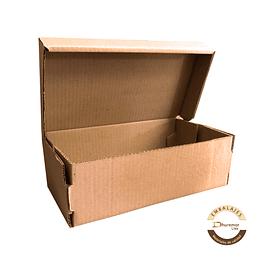 Caja para zapatos troquelada por unidad 324x186x123 mm