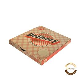 Caja de Pizza Delivery por unidad 320x320x50 mm