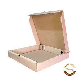 Caja de Pizza por unidad 380x380x45 mm