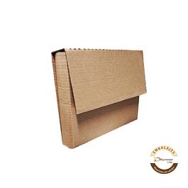 Caja troquelada tipo librero por unidad 300x55x220 mm