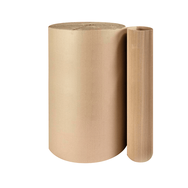 Rollo Cartón Corrugado 120cm x 130m lineales 40Kg