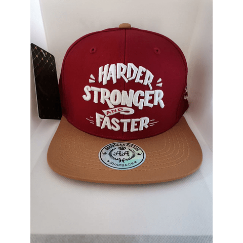 Snapback Harder Stronger
