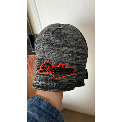 Wool Gray and Black Reversible
