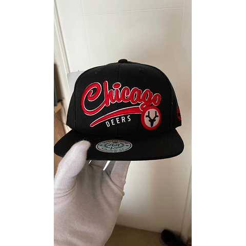 Snapback Chic Red